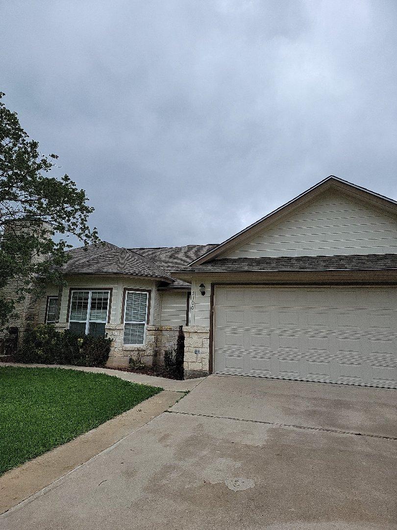 Kingsland, TX - Roof inspection, hail damage