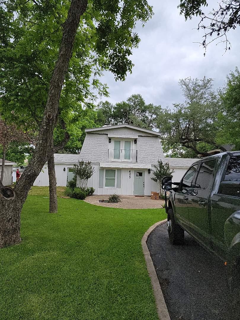 Kingsland, TX - Roof and gutter estimate