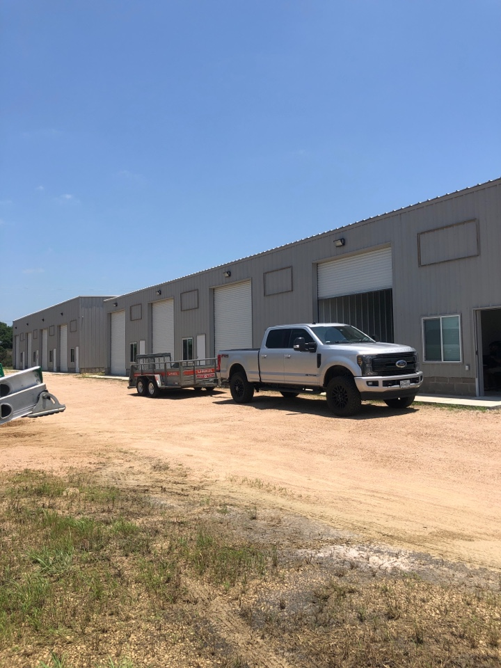 """Marble Falls, TX - Quoting a 6"""" gutter install on a warehouse in marble falls"""