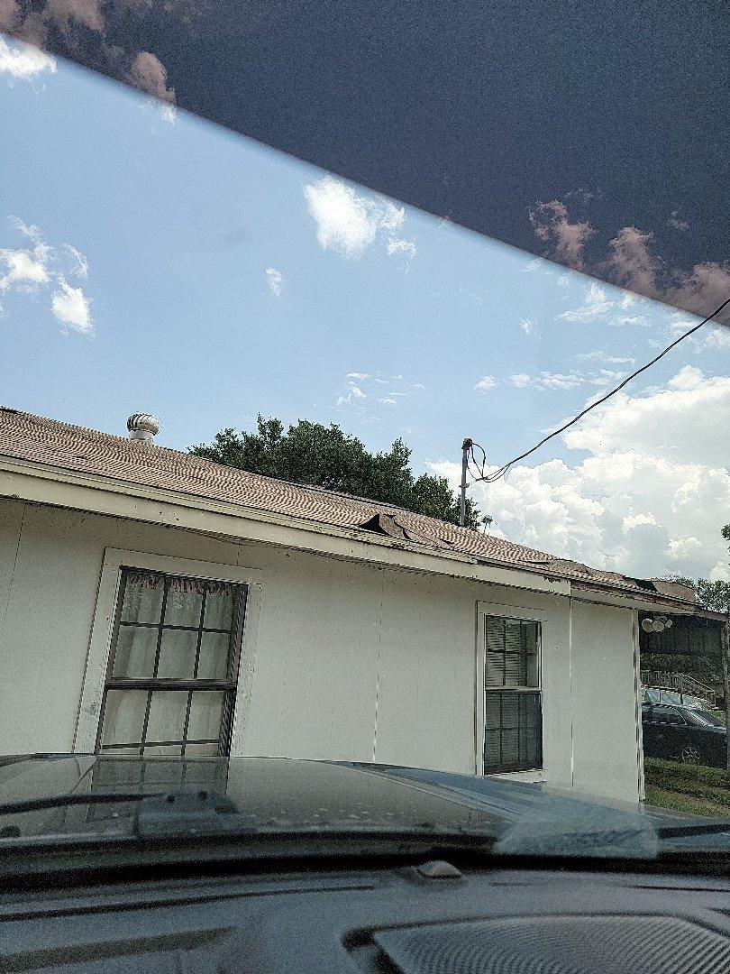 Granite Shoals, TX - Storm damage. Roof estimate
