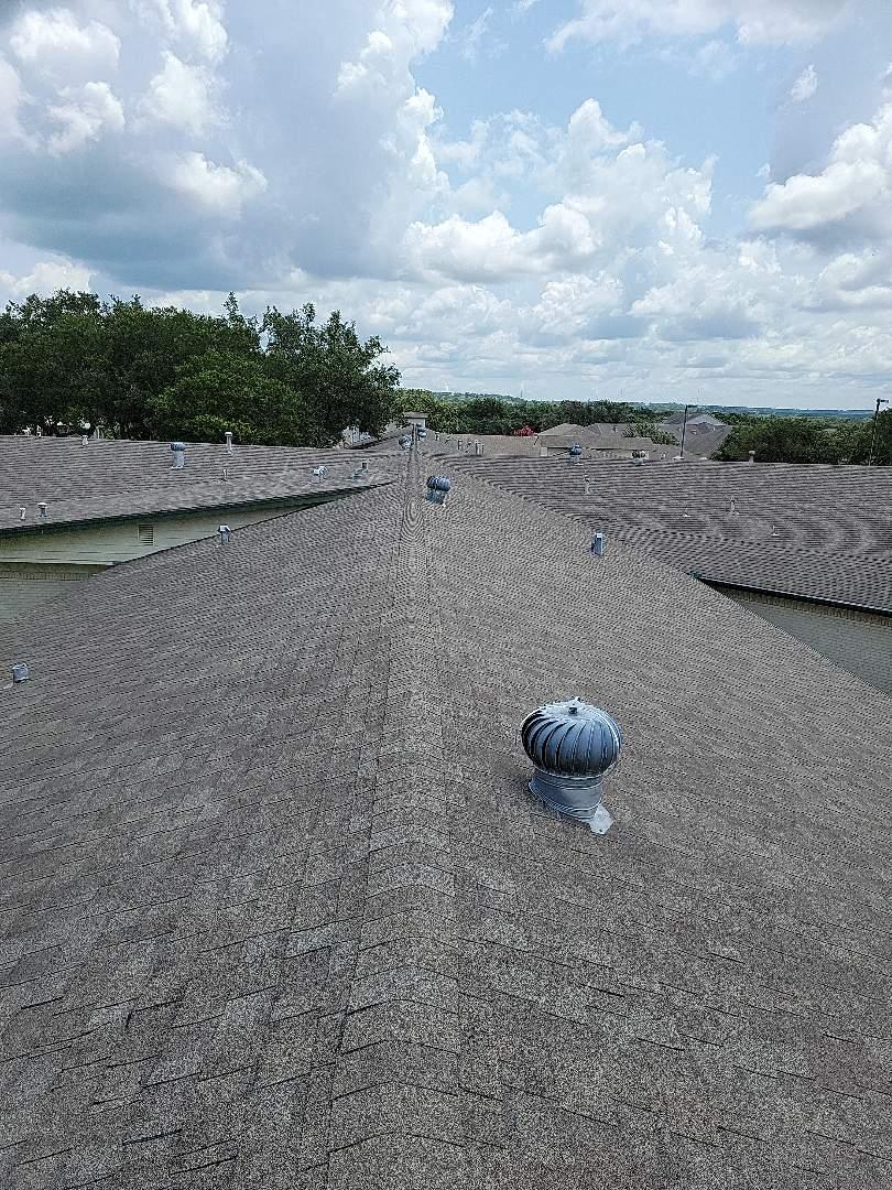 Burnet, TX - Storm damage. Roof estimate