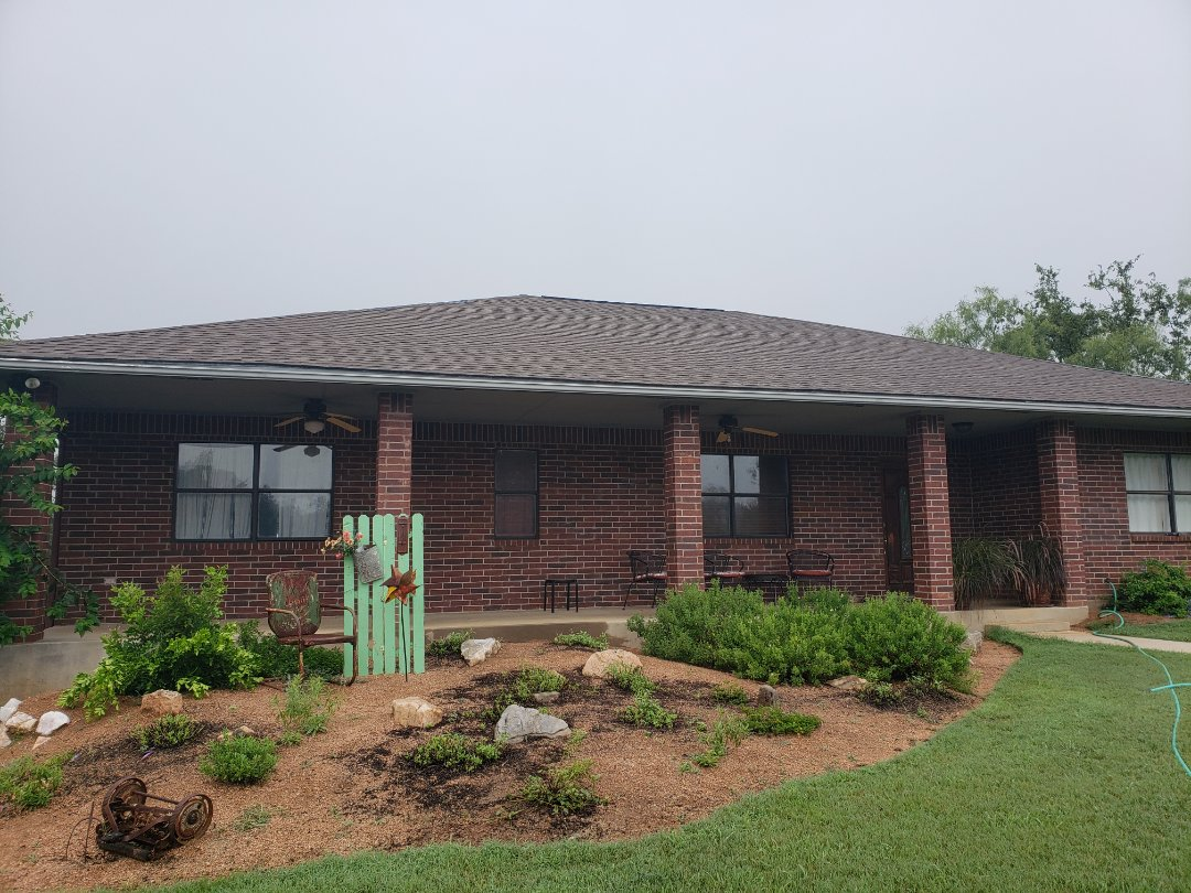 Horseshoe Bay, TX - Roof inspection and replacement bid. Hail damaged shingles