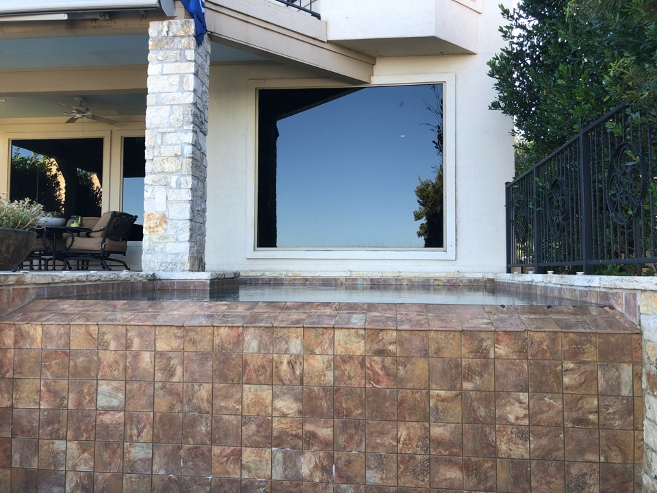 """Horseshoe Bay, TX - Quoting a 5"""" and 6"""" gutter install on a home in HSB."""