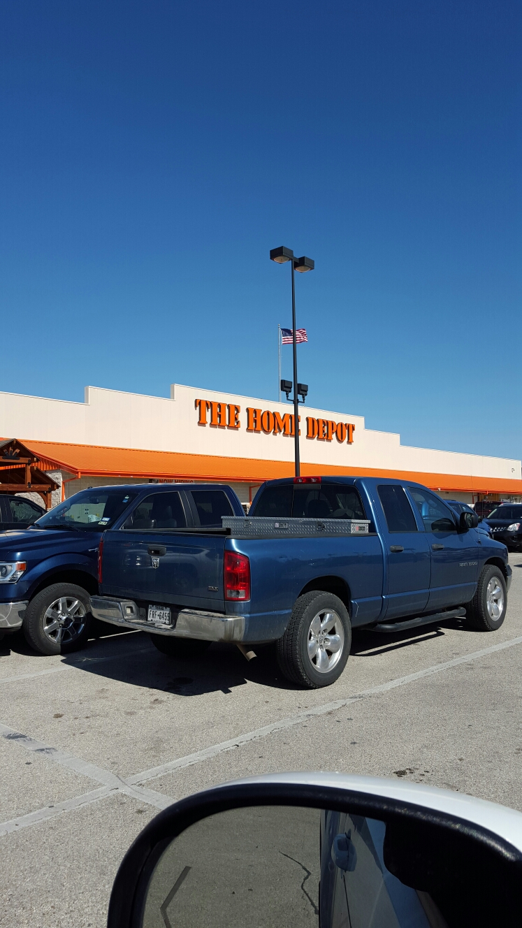 Marble Falls, TX - Picking up materials for roof repair