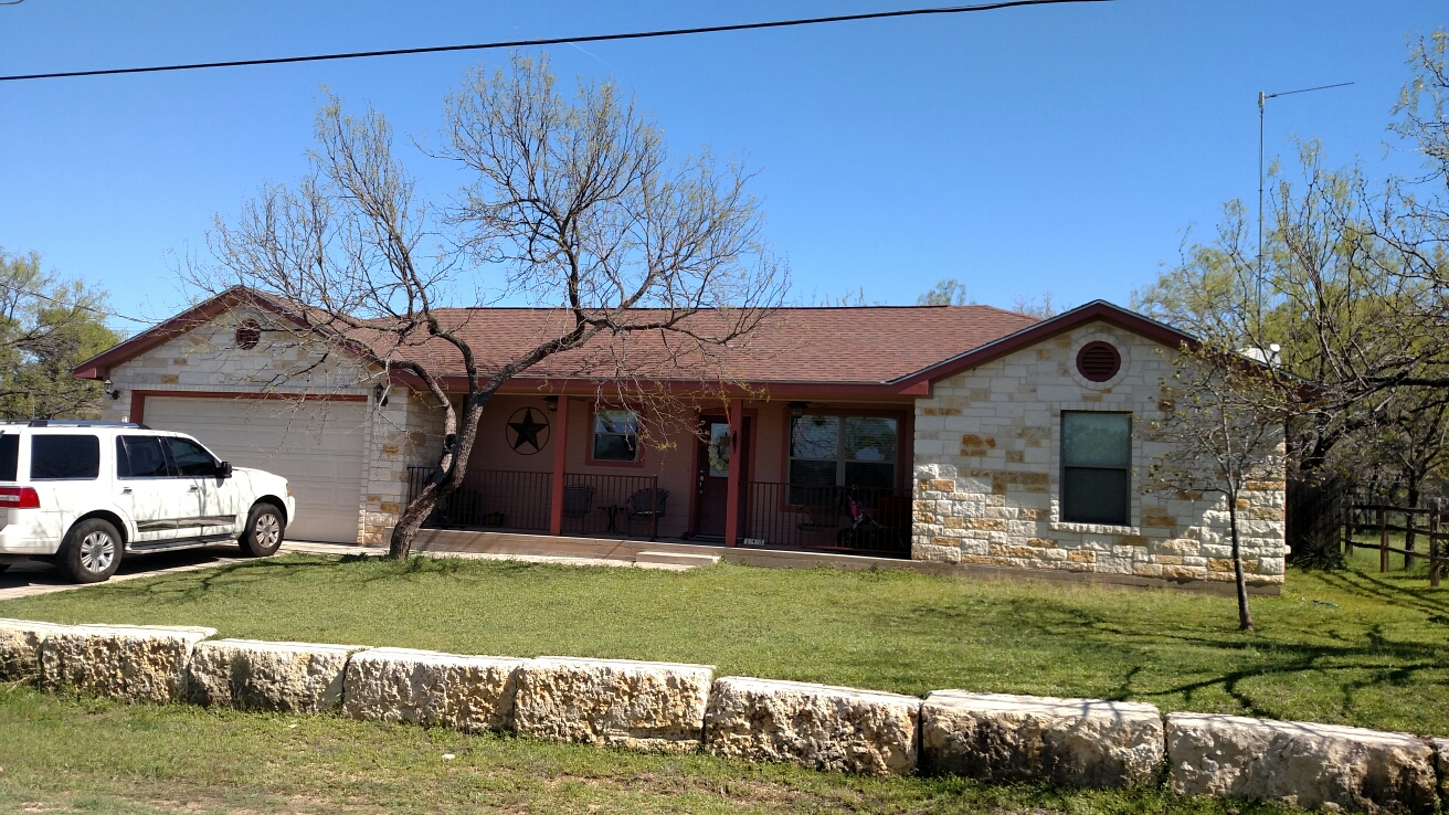 Marble Falls, TX - Hail damage inspection.