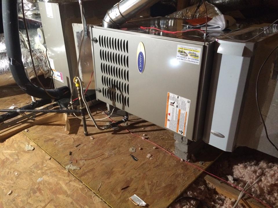 Conroe, TX - New HVAC INSTALL