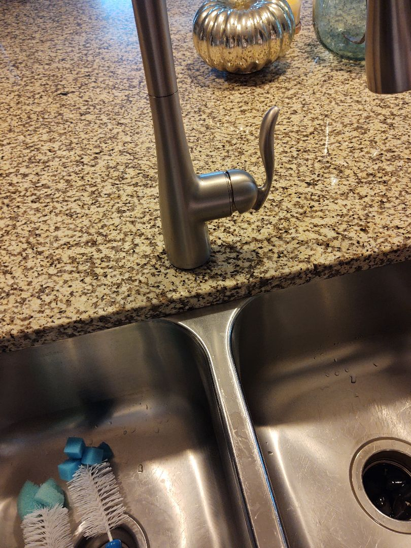 Fort Mill, SC - Working on kitchen sink faucet