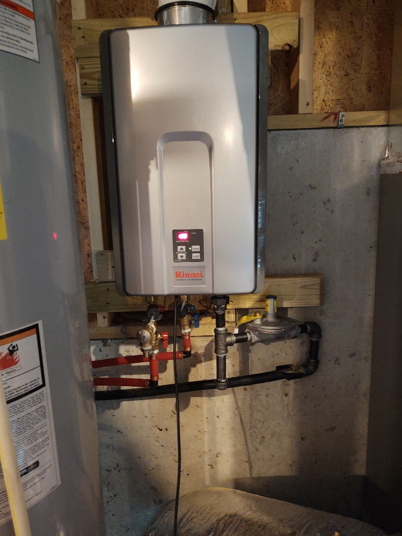 Installed a new tankless here in rock hill sc