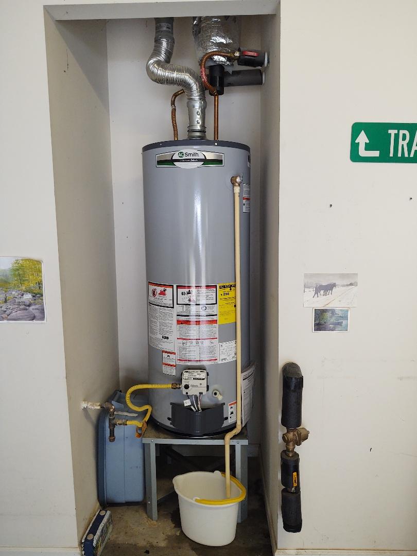 Installed water heater in sun city