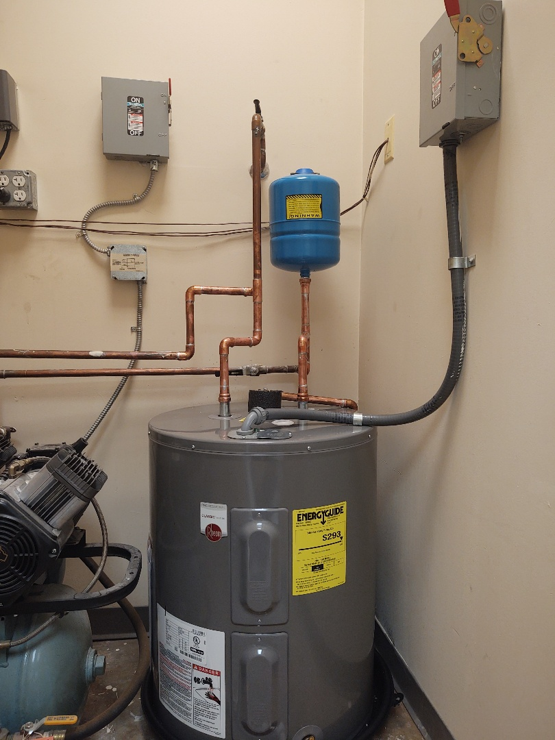 Pineville, NC - 30 gallon water heater at dentist office