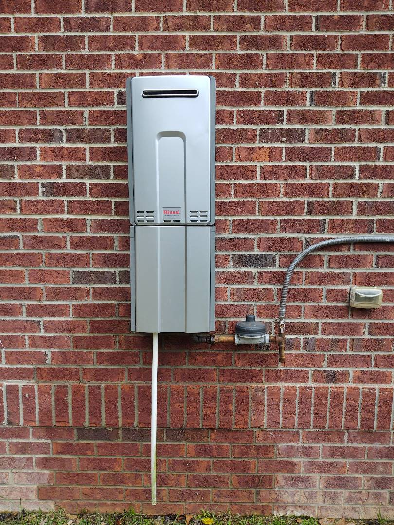 Fort Mill, SC - Installed new tankless water heater in fort mill off of sheraton way