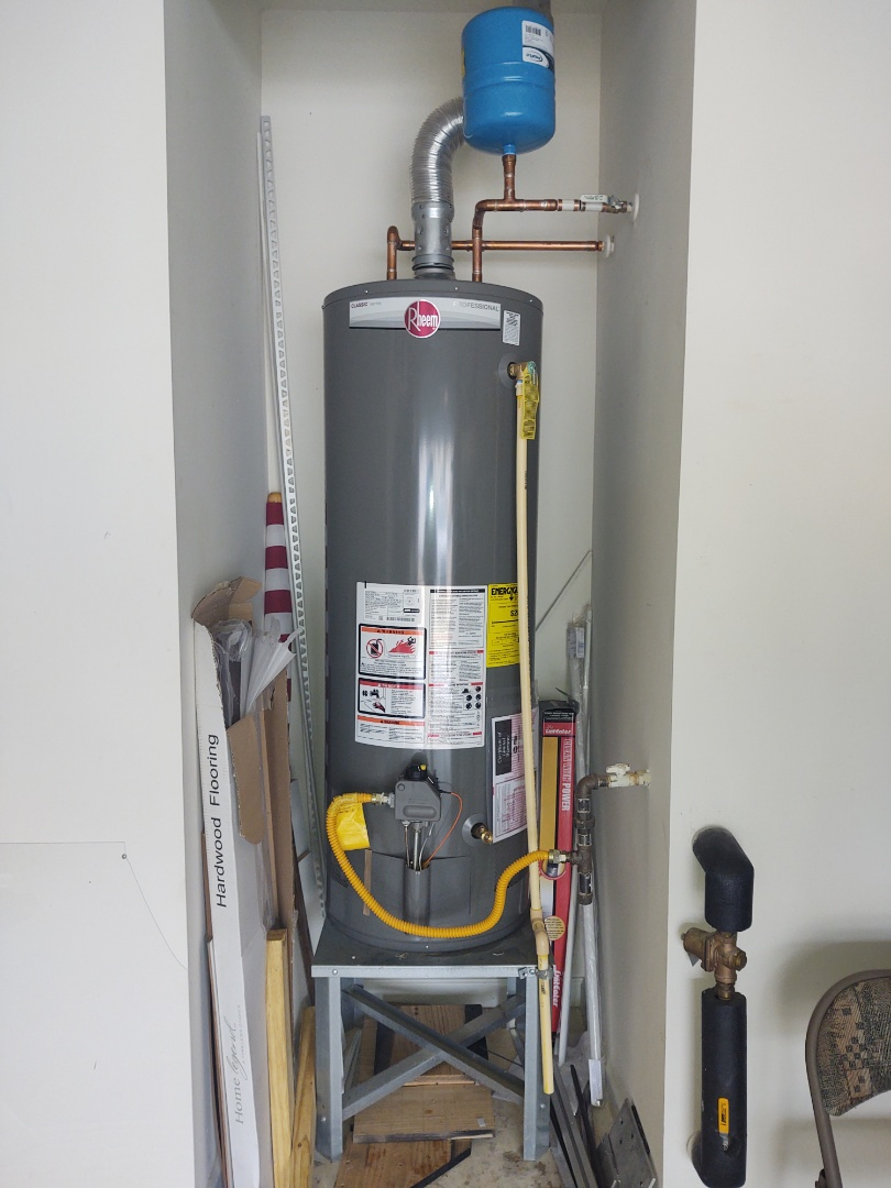 Indian Land, SC - Installed new water heater in Carolina lakes,sun city Indian Land South Carolina