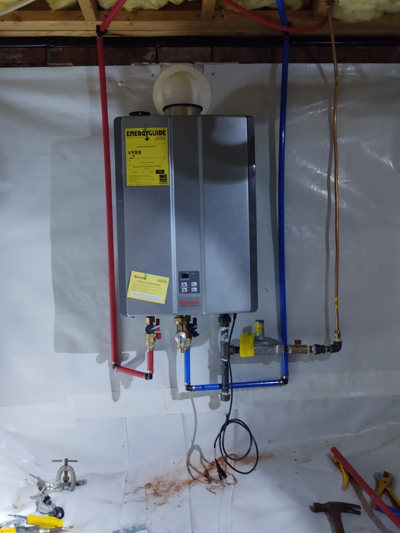 Fort Mill, SC - Installed tankless in fortmill
