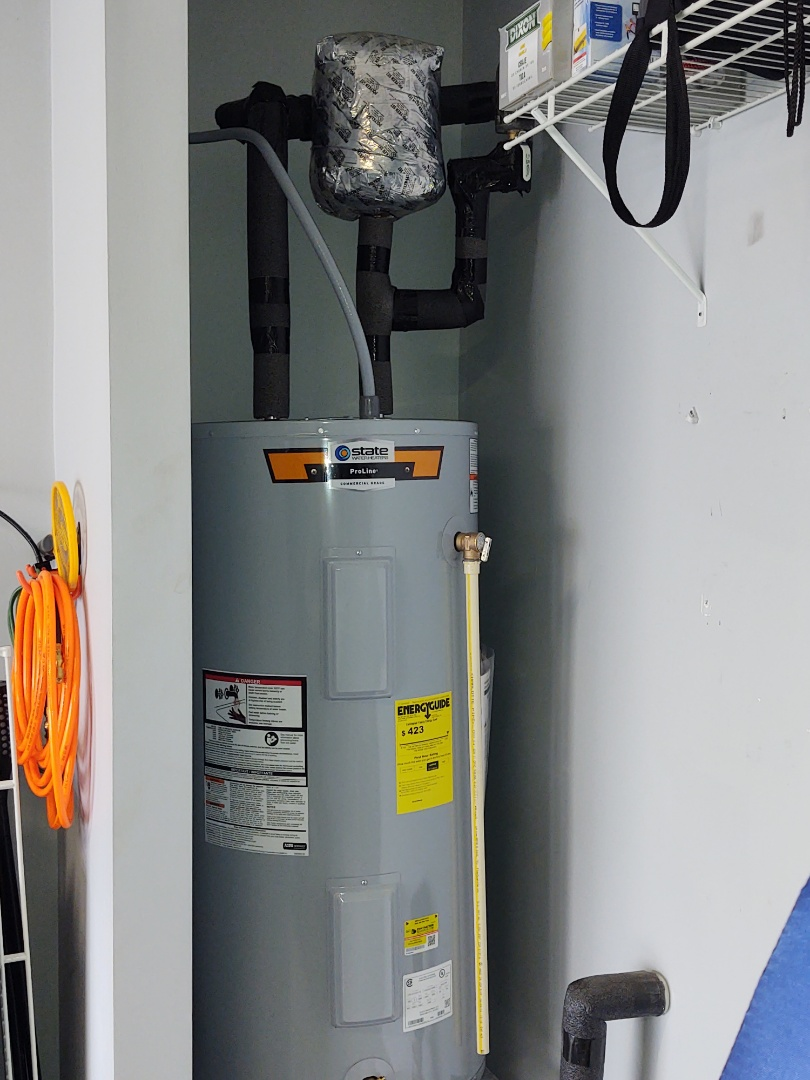 Indian Land, SC - Installed new 50 gallon electric water heater and Sun City fort Mill South Carolina