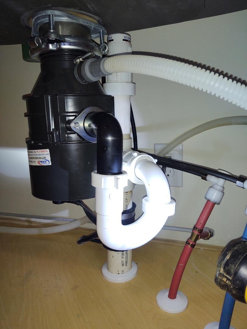 Indian Land, SC - Installed kitchen sink faucet, garbage disposal and Carolina lakes Sun City
