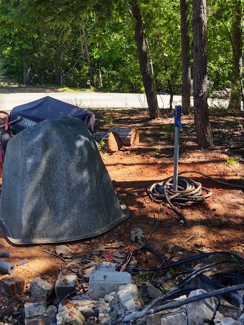 Fort Mill, SC - Installed new water hydrant beside the well in tega cay fort Mill area