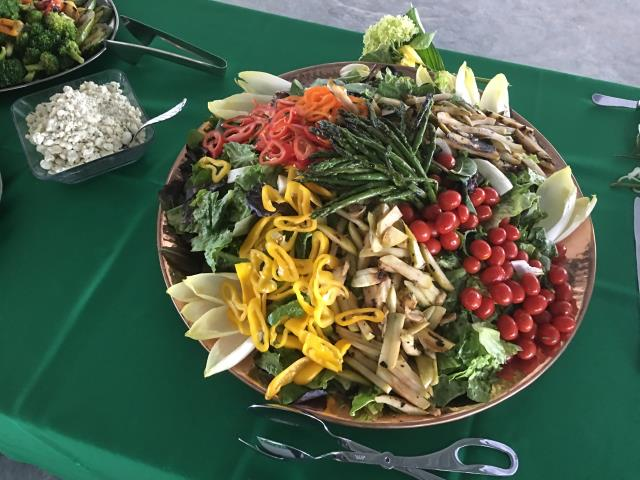 Delray Beach, FL - Corporate Catering, South Florida Events, Grilled Vegetable Platter