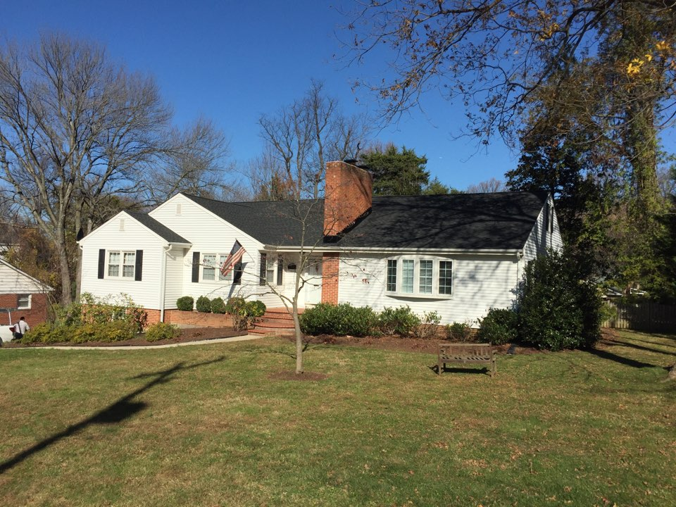 Falls Church, VA - New roof! GAF Timberline HD in charcoal.