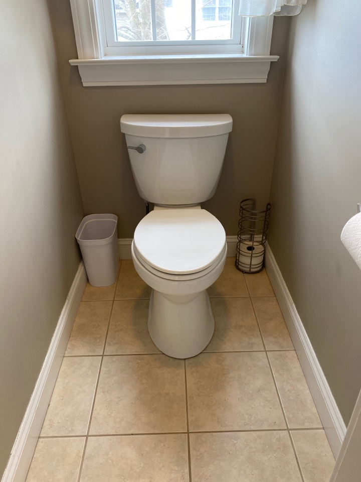 South Windsor, CT - Installation of a Kohler, comfort height, elongated toilet