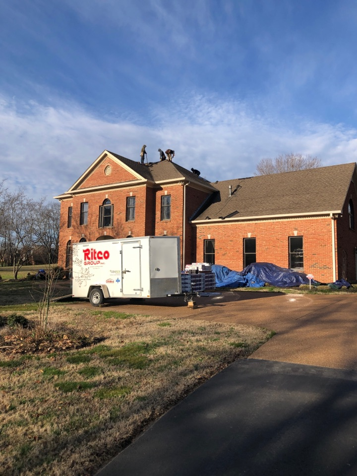 Columbia, TN - Roofing. Can't wait to see the final product!