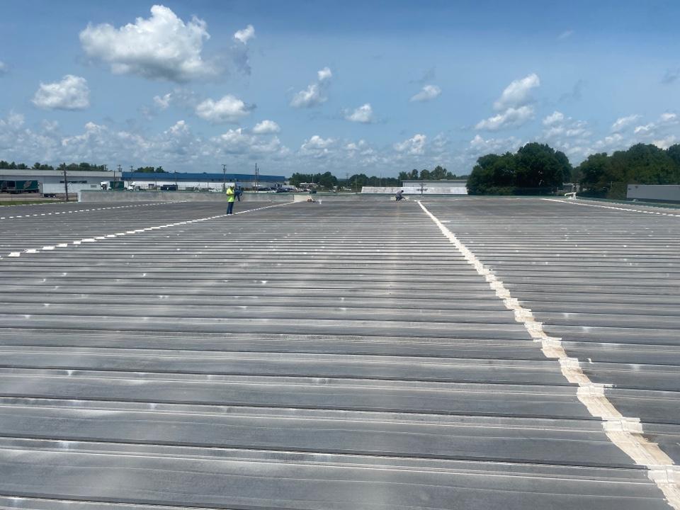Columbia, TN - Big Silicone repair project in Columbia, TN !!!