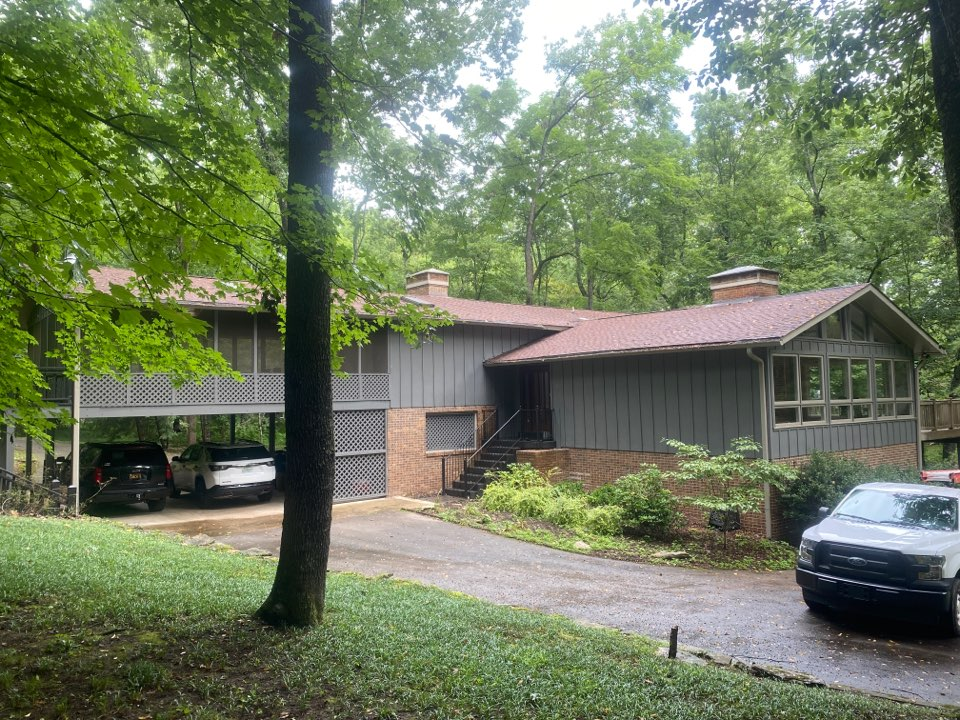 Columbia, TN - An upcoming roofing and gutter project on Hidden Lakes Drive in Columbia, Tn 38401.
