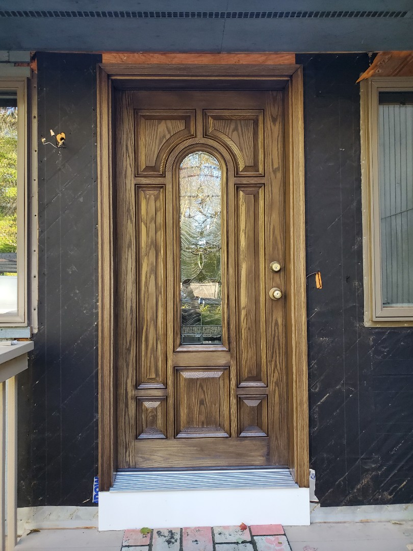Hebron, CT - New front door installed!