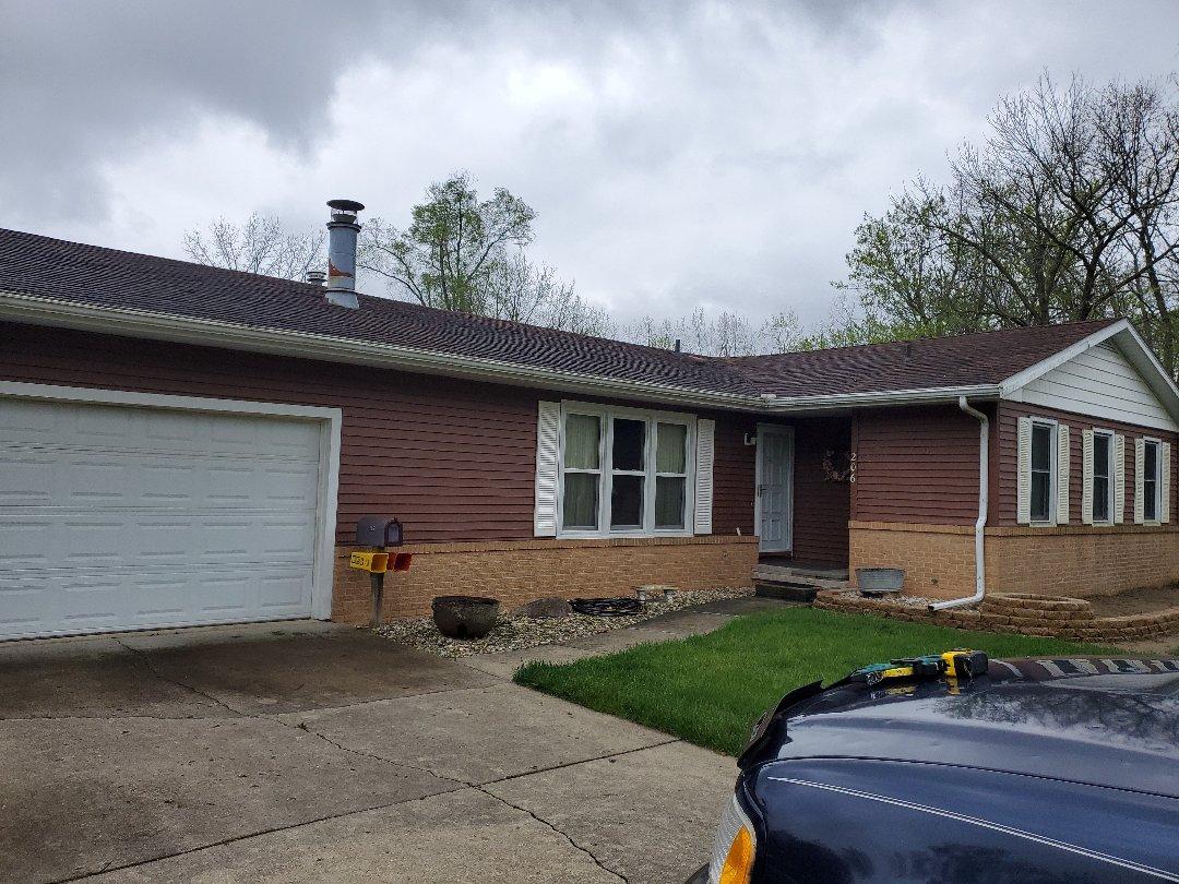 Danville, IL - Hail damage inspection