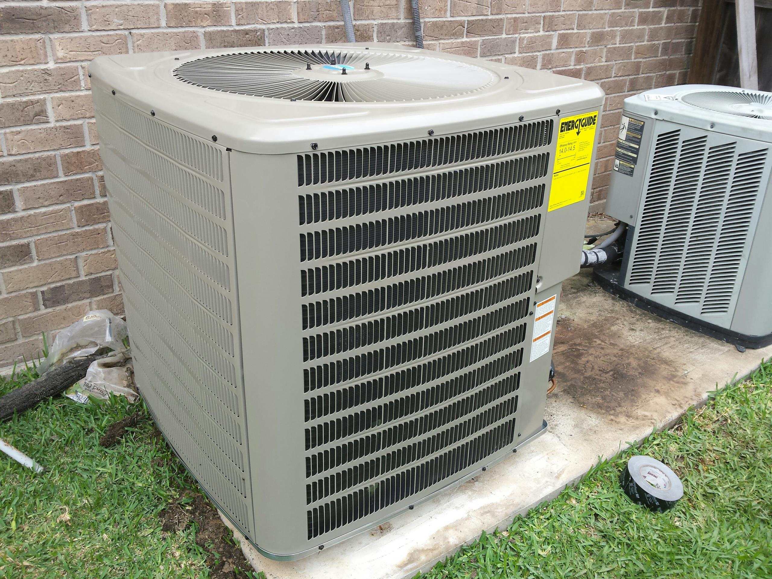 Katy, TX - R22 Freon to R410a conversion. Get it done right with a licensed air conditioning pro it's the only way to go!