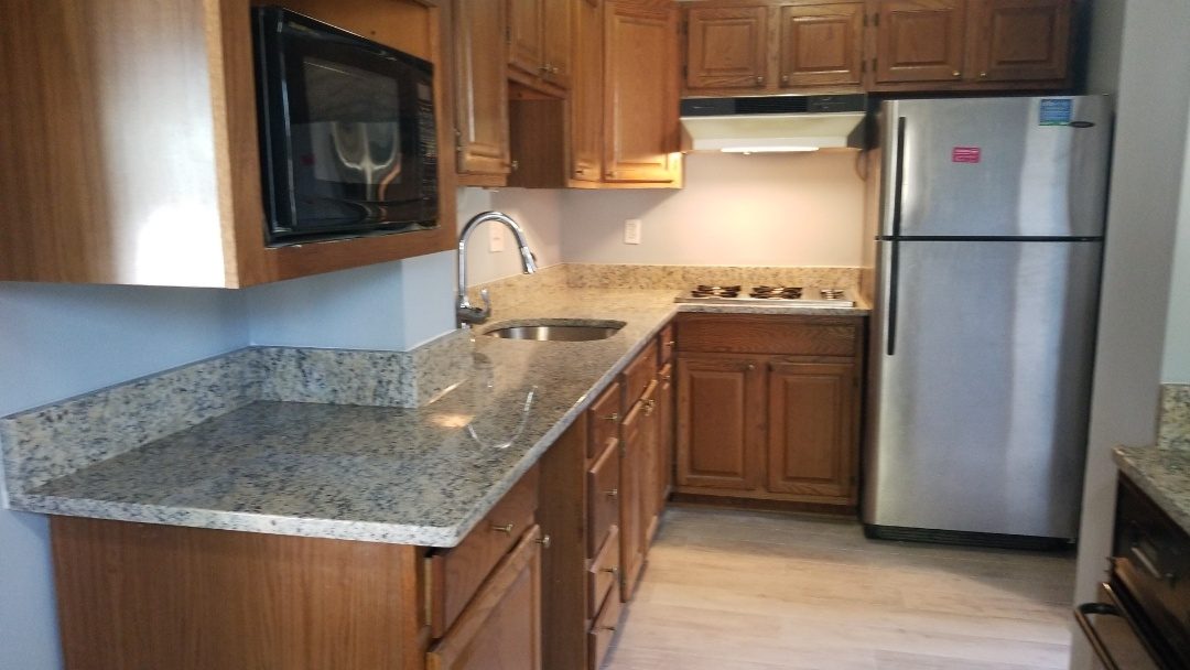 Silver Spring, MD - St Cecilia Counter tops with a D-shape under-mount sink - Level 1 Granite