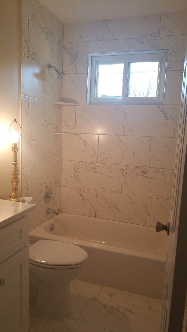 Rockville, MD - Bathroom remodel - new tile, new tub, new vanity, etc