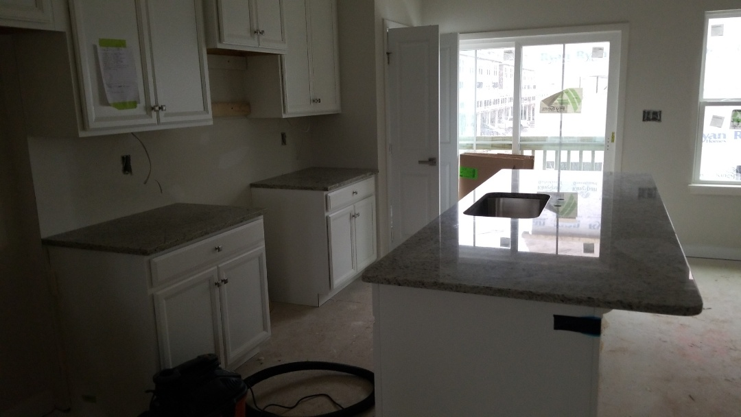 Baltimore, MD - New home construction - Dallas White Granite