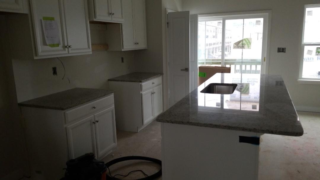Baltimore, MD - New home construction - Dallas White Granite