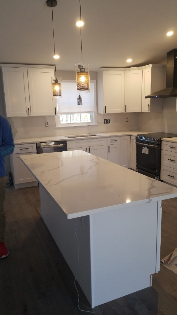 Silver Spring, MD - Raphael Stone - Paris Grey Countertops
