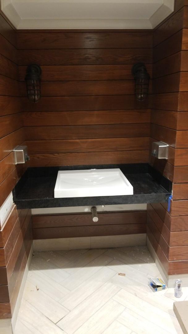 Washington, DC - Cambria Charston - bathroom vanity