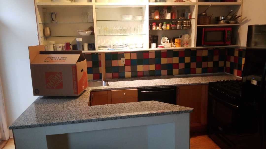 Washington, DC - Granite Level 1 Fortaleza White counter tops with corner sink!