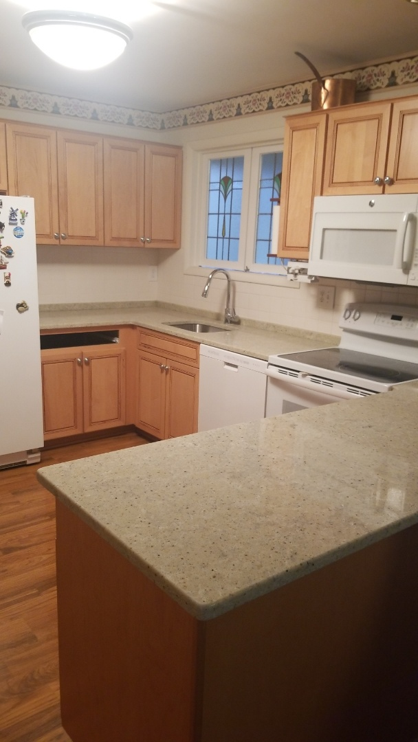 Silver Spring, MD - Spectrum Quartz - Poetic kitchen counter tops