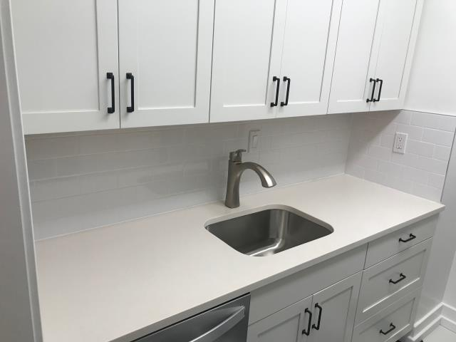 Washington, DC - Snow White Countertops by MSI Quartz