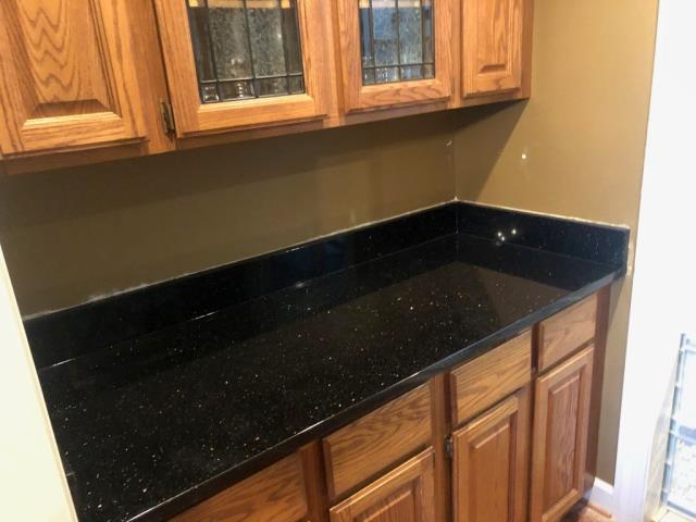 North Potomac, MD - GRANITE - BLACK GALAXY COUNTER TOPS FOR PANTRY