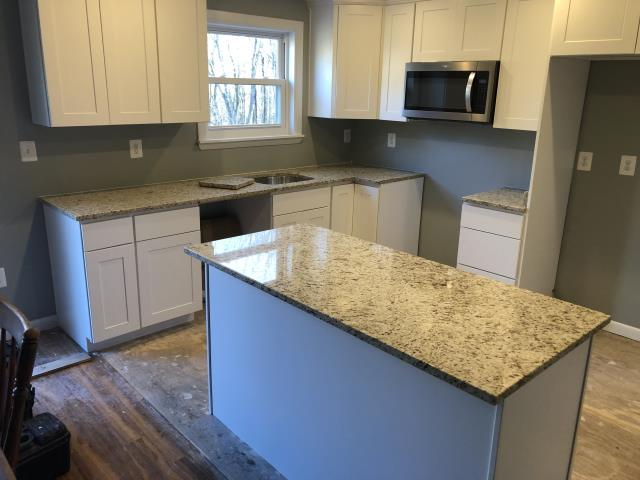 Harwood, MD - New Giallo Ornamental countertops - Granite Countertops