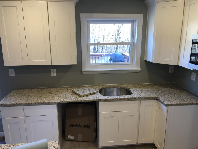 Harwood, MD - Giallo Ornamental Countertops with Cutting Board