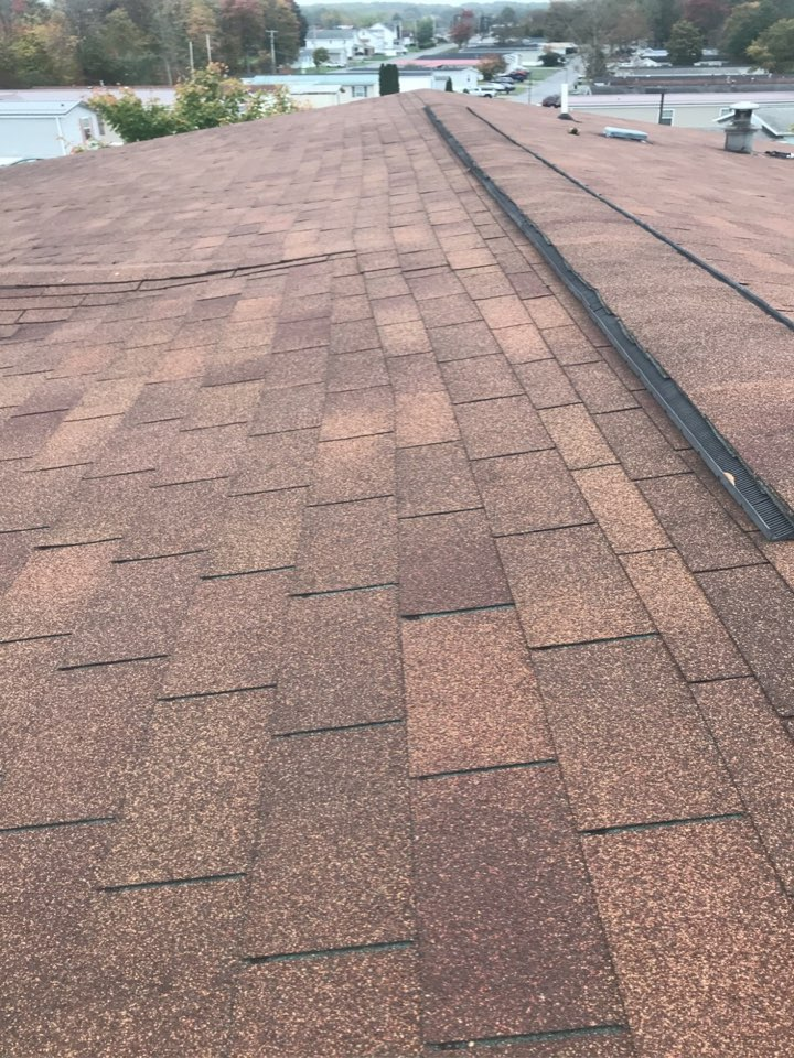 Cresson, PA - Roof assessment. Roof estimate. Inspection of poorly installed roof