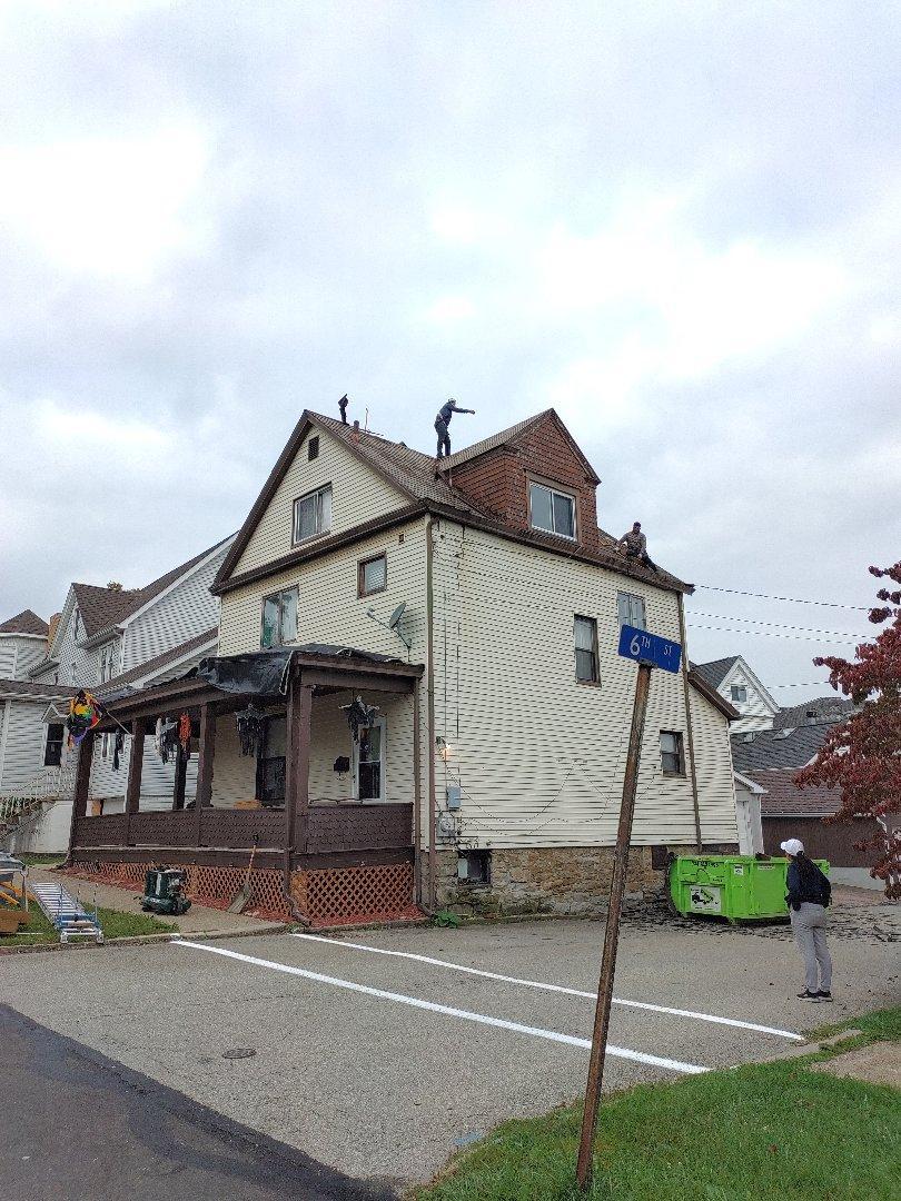 Vandergrift, PA - New roof