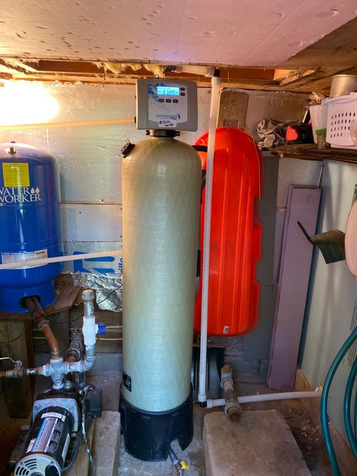 Rhinelander, WI - New iron filter installed