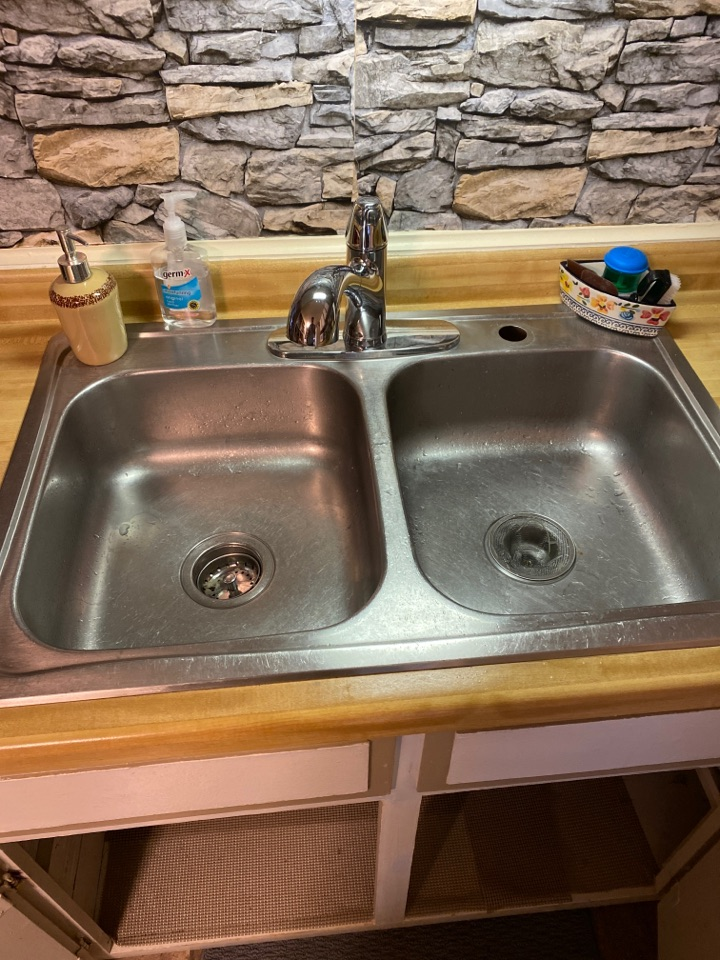 Minocqua, WI - New kitchen faucet installed    ***In addition to what we have done for this customer we also provide services for: Find and repair leaks. Install faucet, Install shower, Install toilet, Install water heater, Repair faucet, Repair pipe, Repair toilet, Install garbage disposal, Repair sewer, Repair shower, Replace pressure tank, Repair sewer pipe, Repair septic pipes and laterals, Water purification, Radiant heating, Boiler repair and installation, Drinking water system, Repair water heater, Unclog drain, Roto Rooter drain pipes, Unclog toilet, Hydronic heat, Tankless water heater installation and repair, Gas line installation, Bathroom remodel, Sewer backup repair, Repair broken sewer pipes and laterals