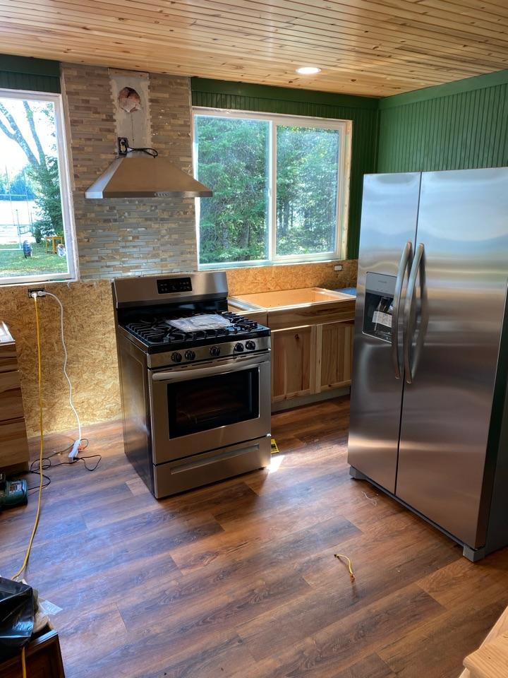 Mercer, WI - Complete cabin remodel