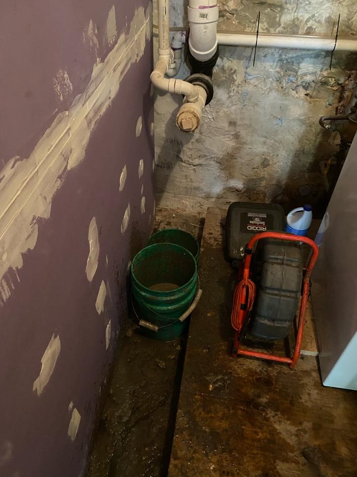 Rhinelander, WI - Sewer back up cleared