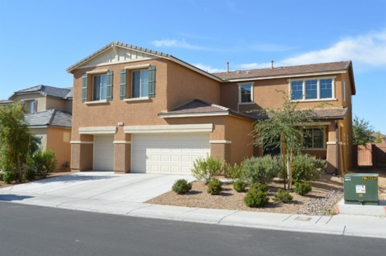 North Las Vegas, NV - $299,999 5 beds 3 baths 2,997 sqft #lasvegas Beautiful 5 bed 3 bath home in Smart Living Eldorado Gated Community. Lots of Upgrades. Home has bright inviting open floor plan. Office space downstairs. Custom cabinets in kitchen and bath. Huge granite Island and Counter Tops. Laminate flooring in kitchen and dining area. Energy Smart Home! Professionally landscaped backyard. Features an amazing oversized loft with great mountain views.