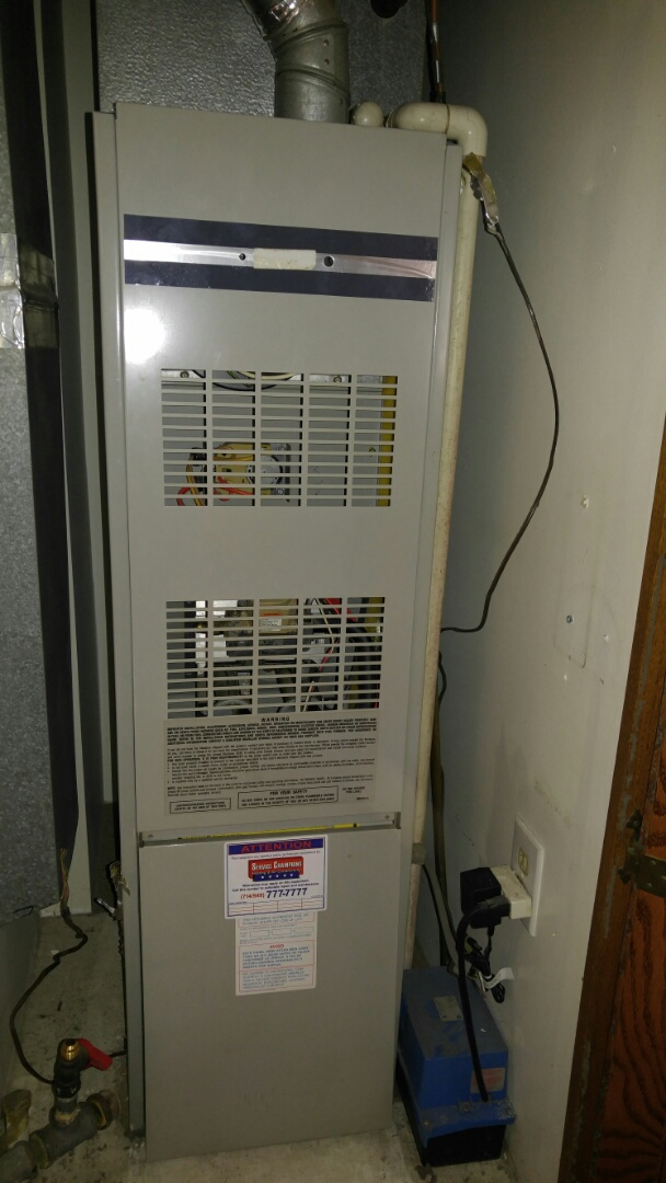 Costa Mesa, CA - Installing a new Daikin 60,000 BTU's furnace and installing? a new 3 -ton coil