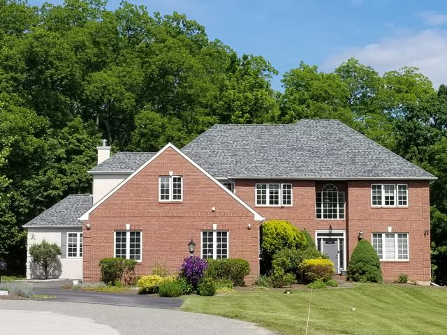 Malvern, PA - Roof replacement-replace existing roof with new CertainTeed Landmark shingles, color Granite Grey with new flashings and ridge-vent. Provide free estimate